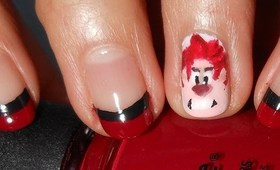 Wreck It Ralph Nail Tutorial