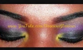 Eyeshadow Tutorial:  Purple Chic