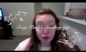 Sexy Purple Smokey Eye