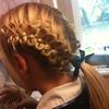School Hairdo (: