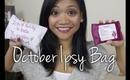 Unboxing October Ipsy Bag