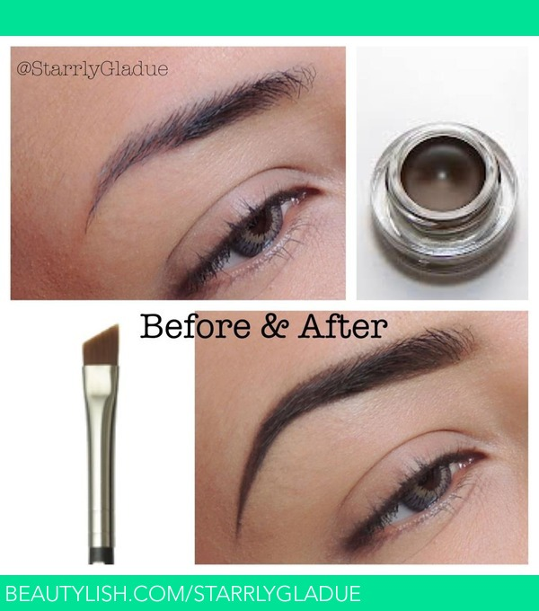 Brows Before And After Starrly Gs Starrlygladue Photo Beautylish