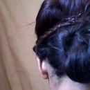 Romantic hair look