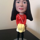 One of the most cute birthday gift I have ever received : My very own Poly Resin Bobblehead