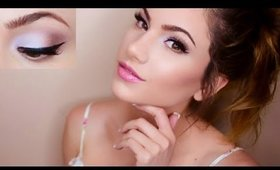 ♥ Soft Lilac ♥ Summer Makeup Tutorial! | Kayleigh Noelle