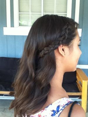 I <33 hair