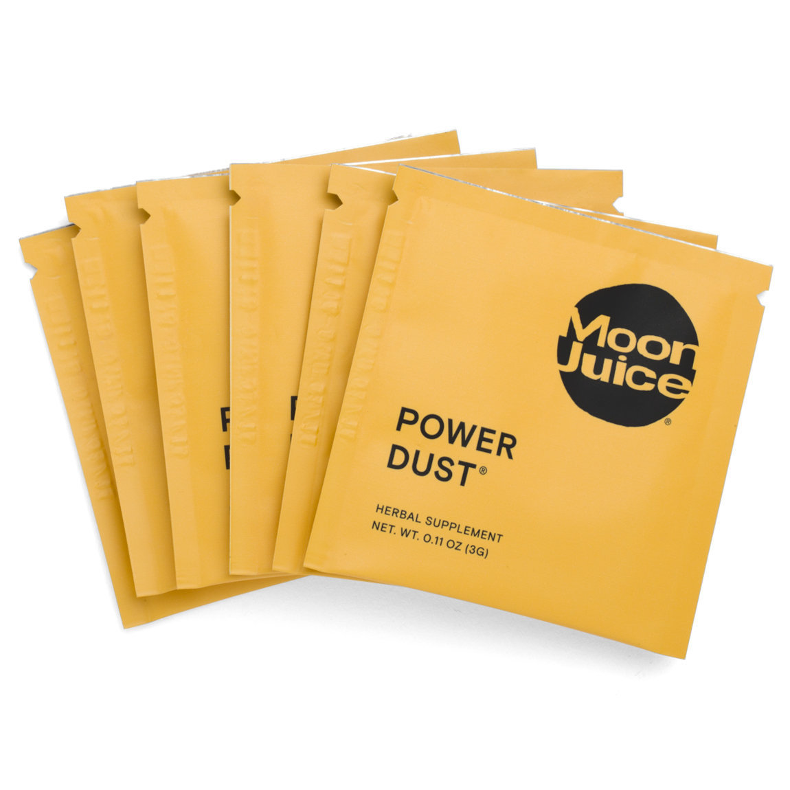Moon Juice Power Dust Sachets product swatch.