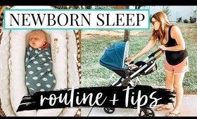 EVENING ROUTINE WITH 3 KIDS // NEWBORN SLEEP TIPS   Kendra Atkins