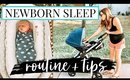 EVENING ROUTINE WITH 3 KIDS // NEWBORN SLEEP TIPS | Kendra Atkins
