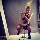 Jennacyde at FX Tutorial Shoot