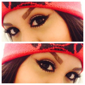Wearing Velour Lashes in Naughty Me