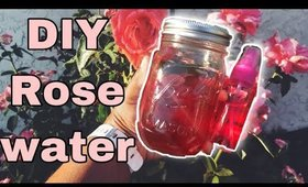 DIY Rose Water🌹| The Secret to Perfect SKIN