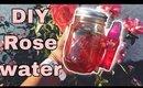 DIY Rose Water🌹  The Secret to Perfect SKIN
