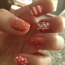 Peachy summer nails 💅