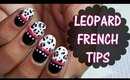 Cute Leopard French Tip Nailart | TUTORIAL