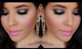 Glittery New Year's Eve Makeup Tutorial | NellysLookBook