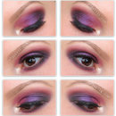 Easy Purple Smokey Eye