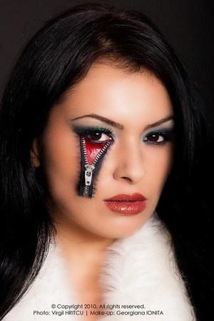 Model and Makeup Georgiana Ionita(http://georgianaionita.com) photo by Virgil Hritcu