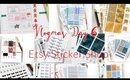 VLOGMAS DAY 6: PLANNER STICKER SHOP & PLANNER STICKERS!!!