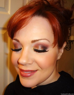 For more info on products used, please visit: http://www.vanityandvodka.com/2013/06/shimmering-metallics.html xoxo,  Colleen