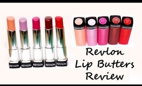 Drug Store Review: Revlon Lip Butters