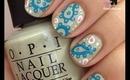 Paisley Nails by The Crafty Ninja