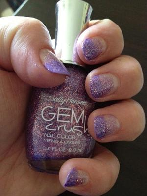 just thought i would see if i could achieve a gradient nail :