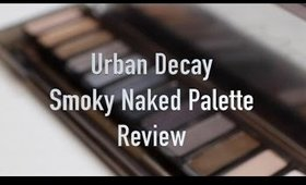 Urban Decay Naked Smoky Palette Swatches and Review