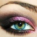 PINK SMOKEY CAT EYE