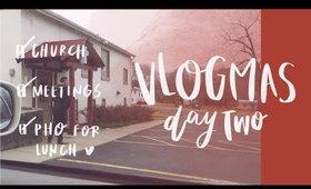 A SHORT VLOG | VAS DAY 2
