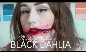Black Dahlia Makeup Tutorial