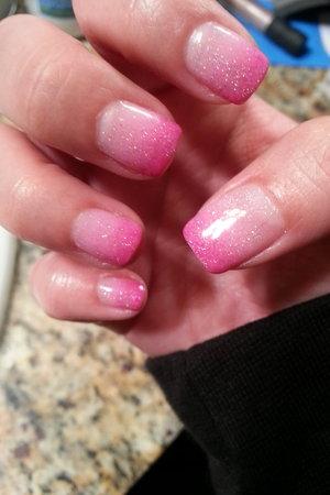 Dark and Baby Pink