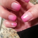 Glitter Pink Ombre