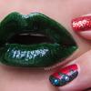 Naughty Holly, Nice Nails