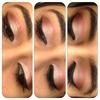 Simple Eyes Pinkish Tones