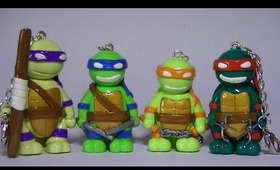 TMNT and Sparky Dog Polymer Clay