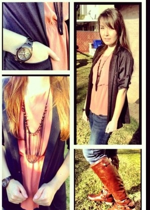 loving this outfit for fall it is comfy and cozy.
