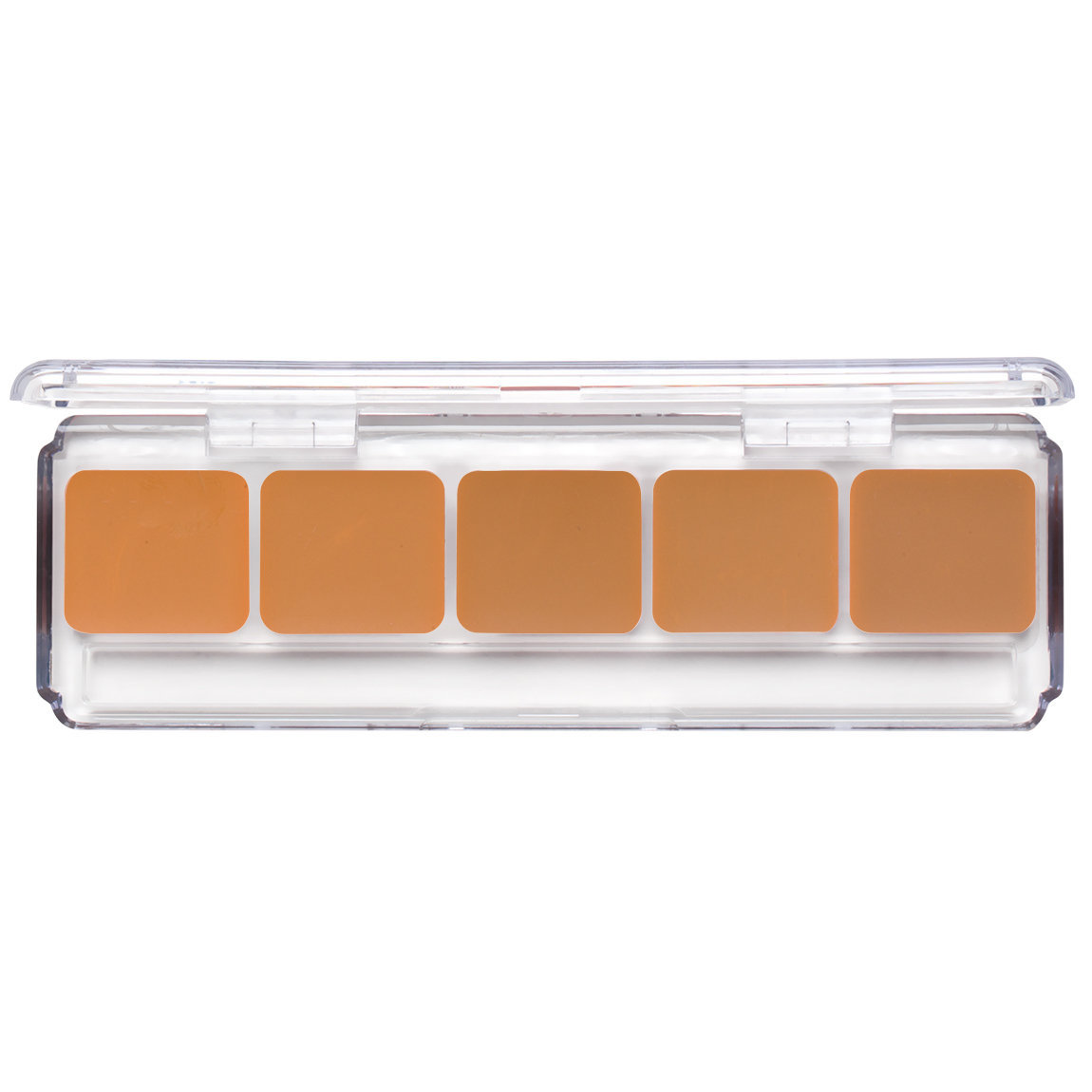 RCMA Makeup 5 Part Palette Shinto Dark product smear.