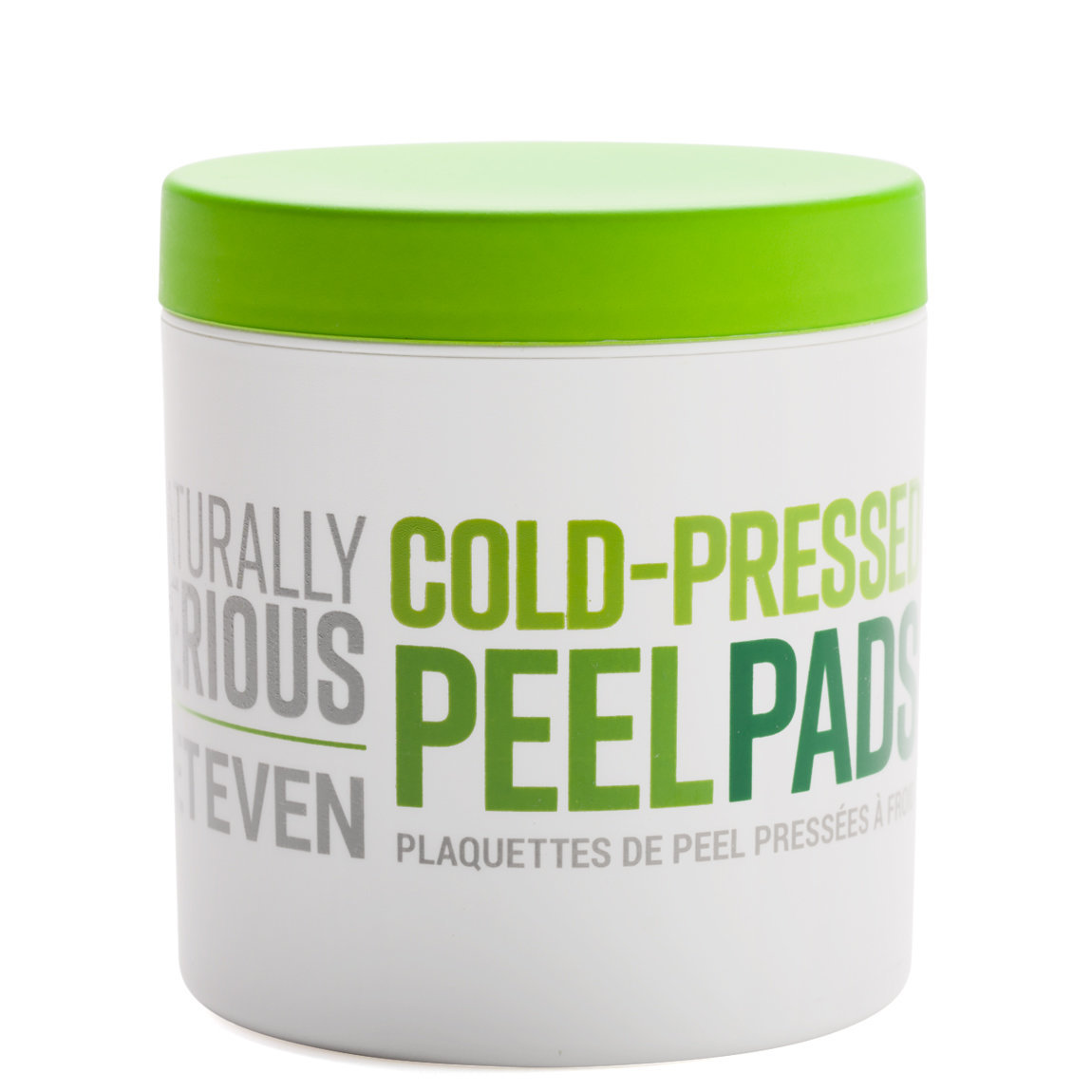 Naturally Serious Get Even Cold-Pressed Peel Pads product smear.