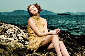 My work...styling/makeup for Fart magazine photographer: Erion Kovaçi Models:  Antigone Ab(agencia) Clothes:Elena Vorrrea George Vorreas), Hair: Vassilis Saroglou