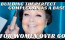 Mature Women Over 60 Complexion Products Makeup Tutorial Part 2- mathias4makeup