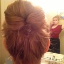 Sloppy Sock Bun
