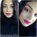 Light spring makeup