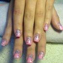 Barbie pink nails