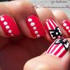 Cute Bow Manicure 2
