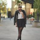 Slimming Black Leather Jacket