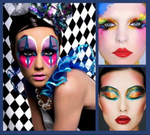 Make up for carnaval