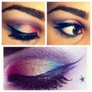 Kat Von D Inspired Rainbow Eye Make Up!
