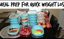 MEAL PREP FOR QUICK WEIGHT LOSS