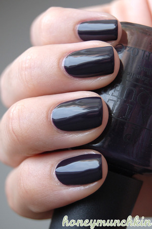 I know it's just one polish this time, but I just absolutely love this stunning shade, especially for fall.